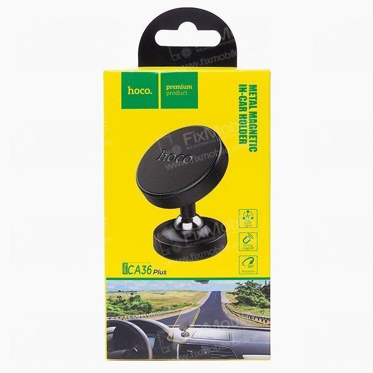 Держатель автомобильный магнитный HOCO CA36 Plus (черный)